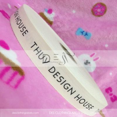 Nhãn in cotton áo dài Thuy Design House