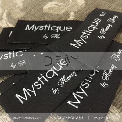 Nhãn dệt cao cấp Mystique Võ Văn Tần