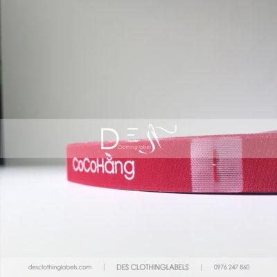 Nhãn dệt cao cấp Thời trang CocoHang