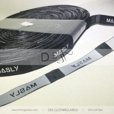 Nhãn dệt 2 da Masly Hà Nội