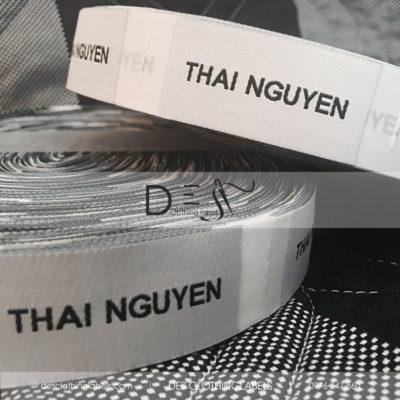Nhãn dệt 2 da NTK Thai Nguyen
